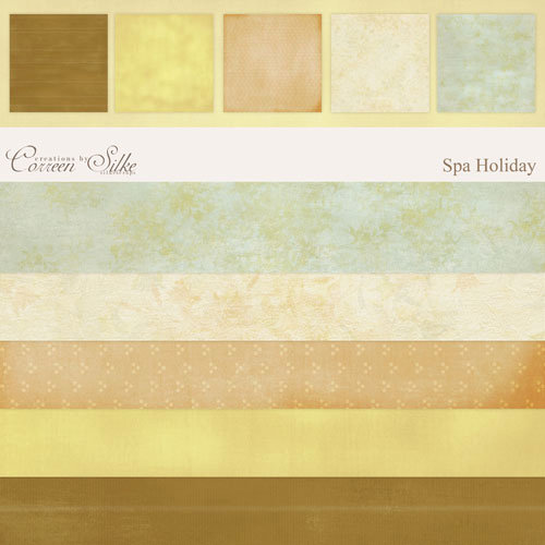 E-Paper Kit - Spa Holiday 2