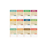 Elle's Studio - 3 x 4 Tags - 2013 Note Calendars