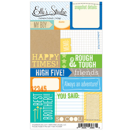 Elle's Studio - Cameron Collection - Paper Tags - Cutouts