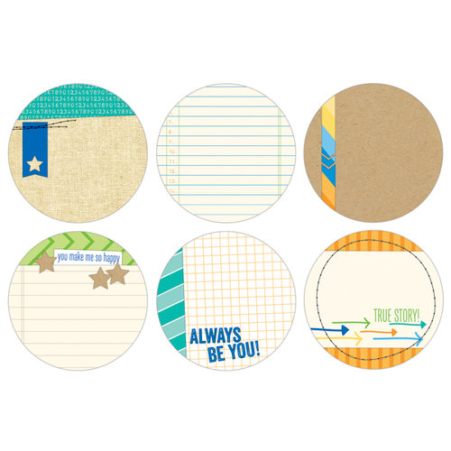 Elle's Studio - Cameron Collection - Tags - 3 Inch Circles