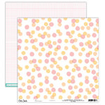 Elle's Studio - Cienna Collection - 12 x 12 Double Sided Paper - Confetti