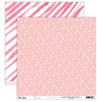 Elle's Studio - Cienna Collection - 12 x 12 Double Sided Paper - Little Bouquet