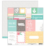 Elle's Studio - Cienna Collection - 12 x 12 Double Sided Paper - You Are