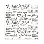 Elle's Studio - Cienna Collection - 12 x 12 Vellum - Happy Moments