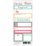 Elle's Studio - Cienna Collection - Lil' Snippets - Word Labels