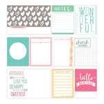 Elle's Studio - Cienna Collection - Journaling Tags