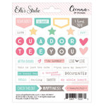 Elle's Studio - Cienna Collection - Cardstock Stickers