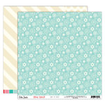 Elle's Studio - Good Cheer Collection - Christmas - 12 x 12 Double Sided Paper - Let it Snow