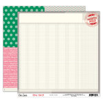 Elle's Studio - Good Cheer Collection - Christmas - 12 x 12 Double Sided Paper - North Pole