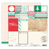 Elle's Studio - Good Cheer Collection - Christmas - 12 x 12 Double Sided Paper - Magical
