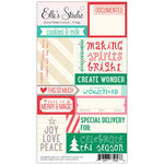 Elle's Studio - Good Cheer Collection - Christmas - Paper Tags - Cutouts