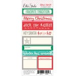 Elle's Studio - Good Cheer Collection - Christmas - Lil' Snippets - Word Labels