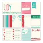 Elle's Studio - Good Cheer Collection - Christmas - Journaling Tags