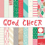 Elle's Studio - Good Cheer Collection - Christmas - 12 x 12 Paper Pack