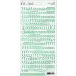 Elle's Studio - Letter and Number Stickers - Mint