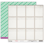 Elle's Studio - Penelope Collection - 12 x 12 Double Sided Paper - Happy Note