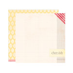Elle's Studio - Serendipity Collection - 12 x 12 Double Sided Paper - Cherish