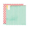 Elle's Studio - Serendipity Collection - 12 x 12 Double Sided Paper - Lucky
