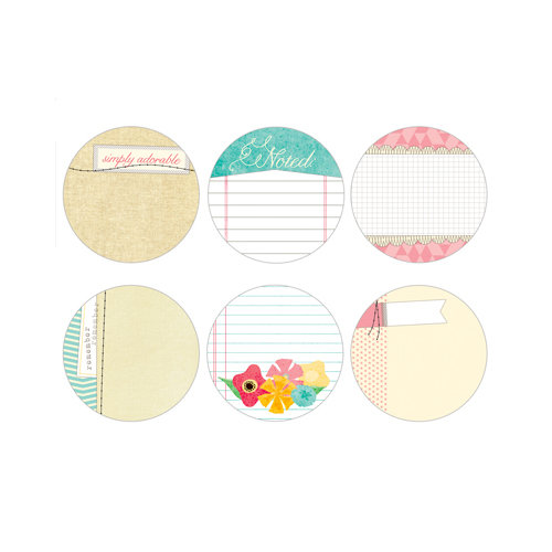 Elle's Studio - Serendipity Collection - Tags - 3 Inch Circles