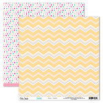 Elle's Studio - Shine Collection - 12 x 12 Double Sided Paper - Hello Summer