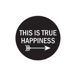 Elle's Studio - The Sweet Life Collection - Clear Acrylic Stamps - True Happiness