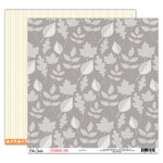 Elle's Studio - Sycamore Lane Collection - 12 x 12 Double Sided Paper - Leaves