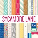 Elle's Studio - Sycamore Lane Collection - 12 x 12 Paper Pack