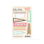 Elle's Studio - You and Me Collection - Paper Tags - Pennants