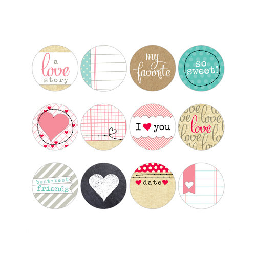Elle's Studio - You and Me Collection - Tags - Tidbits