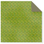 Fiskars - Cloud 9 Design - Kensington Gardens Collection - 12 x 12 Double Sided Paper - Dots-Green, CLEARANCE
