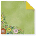 Fiskars - Cloud 9 Design - Kensington Gardens Collection - 12 x 12 Double Sided Paper - Garden Bouquet, CLEARANCE