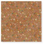 Fiskars - Cloud 9 Design - Kensington Gardens Collection - 12 x 12 Sparkle Paper - Flower Buds
