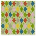 Fiskars - Cloud 9 Design - Kensington Gardens Collection - 12 x 12 Sparkle Paper - Argyle Lane