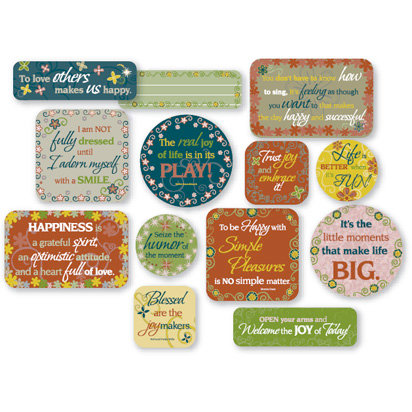 Fiskars - Cloud 9 Design - Kensington Gardens Collection - Cardstock Quote Cards, CLEARANCE