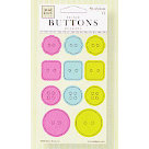 Fiskars - Heidi Grace Designs - Reagan's Closet Collection - Epoxy Raised Buttons