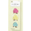 Fiskars - Heidi Grace Designs - Reagan's Closet Collection - Fabric Glitter Flowers, CLEARANCE