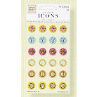 Fiskars - Heidi Grace Designs - Reagan's Closet Collection - Raised Epoxy Icons, CLEARANCE