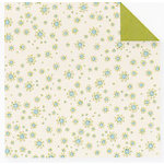 Fiskars - Cloud 9 Design - Finley's Estate Collection - 12 x 12 Double Sided Paper - Cream Buds, CLEARANCE