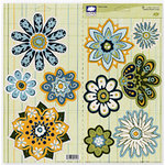 Fiskars - Cloud 9 Design - Finley's Estate Collection - Sparkle Jumbo Punch Outs