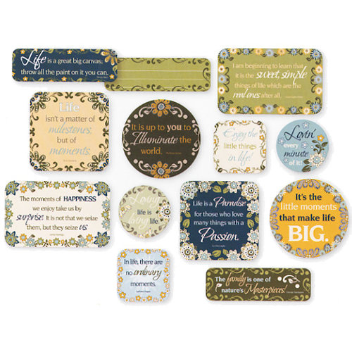 Fiskars - Cloud 9 Design - Finley's Estate Collection - Cardstock Quote Cards