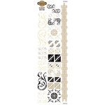 Fiskars - Kimberly Poloson - Letters Home Collection - Rub Ons - Element, CLEARANCE