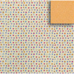 Fiskars - Heidi Grace Designs - Sweetest Bug Collection - 12 x 12 Double Sided Paper - Floral Confetti, CLEARANCE