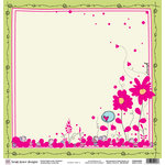 Fiskars - Heidi Grace Designs - Sweetest Bug Collection - 12 x 12 Double Sided Luster Paper - Lovely Day, CLEARANCE