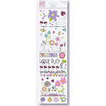 Fiskars - Heidi Grace Designs - Sweetest Bug Collection - Rub Ons - Icons