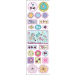 Fiskars - Heidi Grace Designs - Sweetest Bug Collection - Epoxy Stickers - Icon Accents, CLEARANCE
