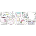 Fiskars - Heidi Grace Designs - Sweetest Bug Collection - Clear Overlays - Shapes, CLEARANCE