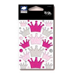 Fiskars - Cloud 9 Design - Rain Dots Stickers - Crowns, CLEARANCE