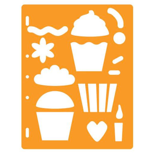 Fiskars - Shape Template - Cupcakes and More