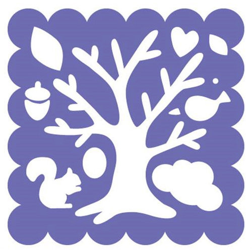 Fiskars - Shape Template - 12 x 12 - Woodland Tree