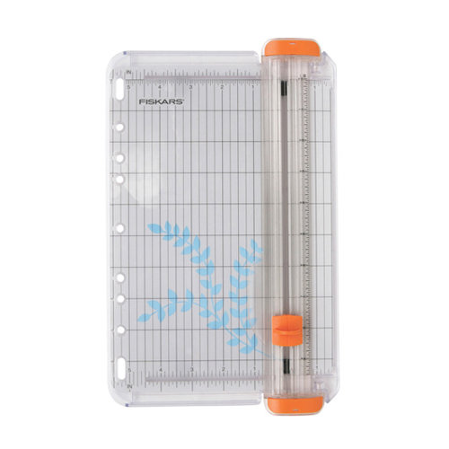 Fiskars - 9 Inch Card Making Paper Trimmer with Cut-Line - Blade Style I
